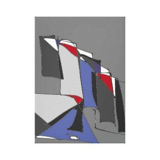 Impressão Em Canvas Um furo na parede