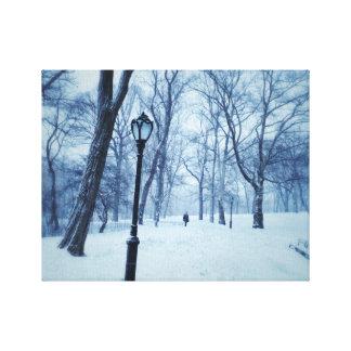Impressão Em Canvas Uma caminhada Blustery no parque