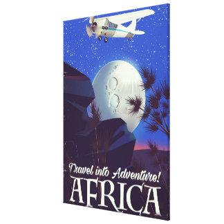 Impressão Em Canvas Viaje na aventura! África