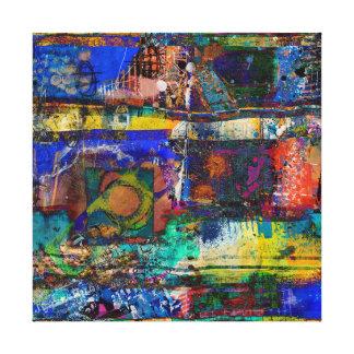 Impressão Em Canvas Vida viva na cor completa