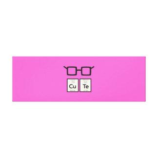 Impressão Em Canvas Vidros bonitos Zwp34 do nerd do elemento químico