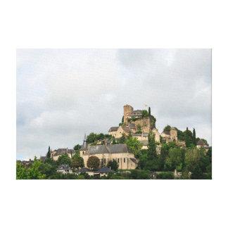 Impressão Em Canvas Vila de Turenne em France