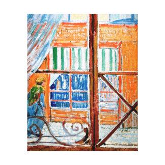 Impressão Em Canvas Vincent van Gogh - loja de carniceiros de uma