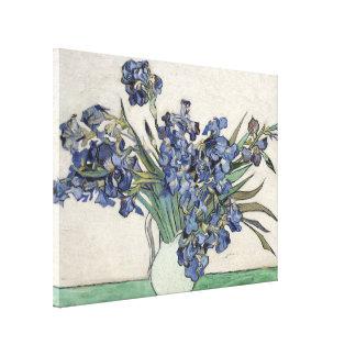 Impressão Em Canvas Vincent van Gogh torna iridescentes as belas artes