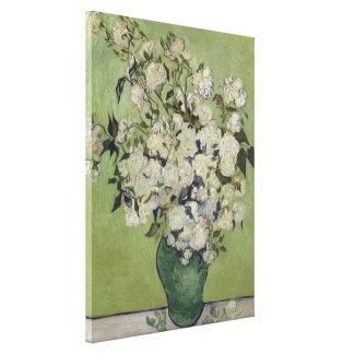 Impressão Em Canvas Vintage GalleryHD floral dos rosas de Vincent van