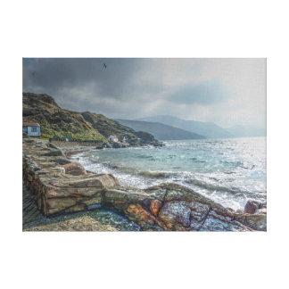 Impressão Em Canvas Vista litoral