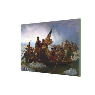 Impressão Em Canvas Washington que cruza o Delaware por Emanuel Leutze
