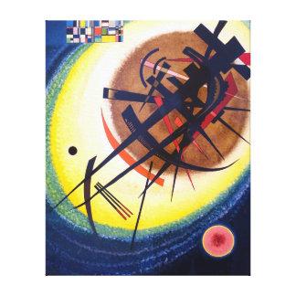 Impressão Em Canvas Wassily Kandinsky no Oval brilhante