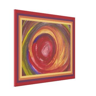 Impressão Em Canvas Watercolour da tempestade da terra