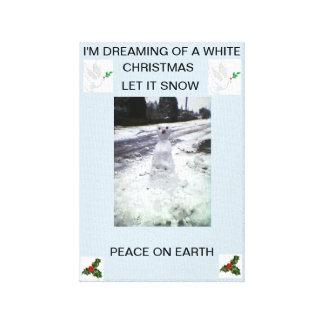 IMPRESSÃO EM CANVAS WHITE CHRISTMAS