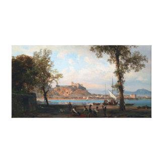 Impressão Em Canvas Wilhelm Alfred Metzener Angera no lago Maggiore
