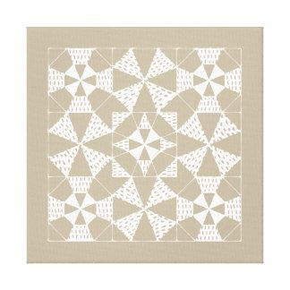 Impressão Em Canvas Zen-padrões - acolchoado beta