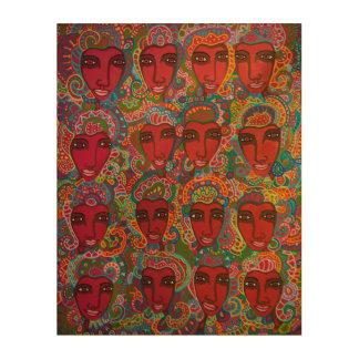 Impressão Em Madeira A cor do amor 2