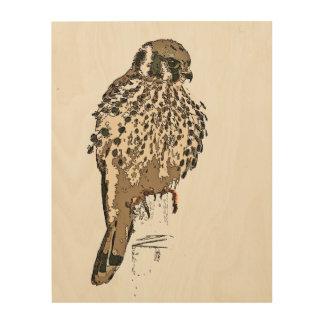 Impressão Em Madeira Arte de madeira das canvas dos animais selvagens