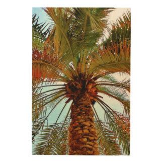 Impressão Em Madeira Árvore da data