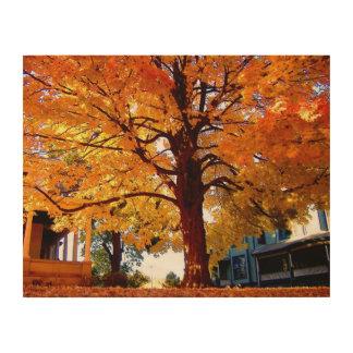 Impressão Em Madeira Árvore esplêndido suspensão de madeira do painel