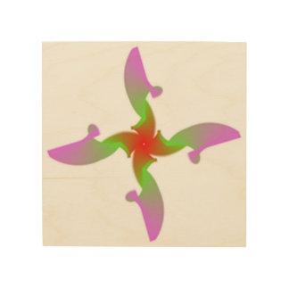 Impressão Em Madeira asas