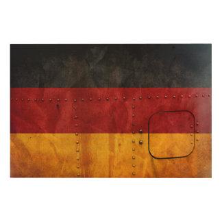 Impressão Em Madeira Bandeiras de país afligidas | Alemanha