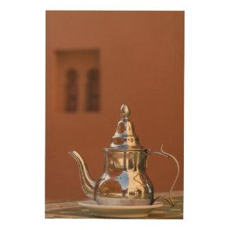 Impressão Em Madeira Bule marroquino