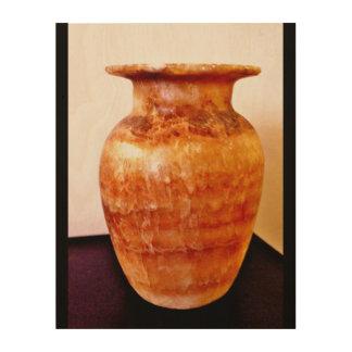 Impressão Em Madeira Castiçal egípcio