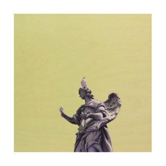 Impressão Em Madeira Colora o efeito, fotografia simples filtrada,