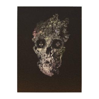 Impressão Em Madeira Crânio da metamorfose