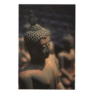 Impressão Em Madeira Estátuas de Buddha da fábrica