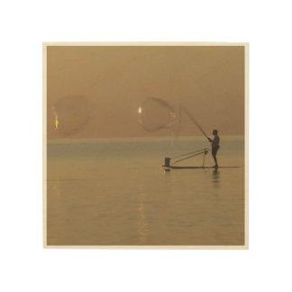 Impressão Em Madeira Fabricante de bolha, o Lago Erie