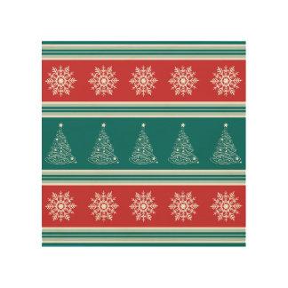 Impressão Em Madeira Feliz Natal