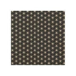 Impressão Em Madeira Flor da geometria sagrado da vida