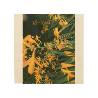 Impressão Em Madeira Impressão das flores