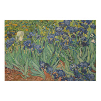 Impressão Em Madeira Íris por Vincent van Gogh
