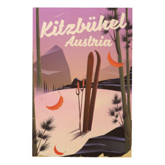 Impressão Em Madeira Kitzbühel Áustria