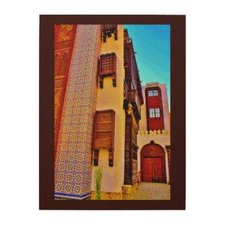 Impressão Em Madeira Museu de Abdul Raouf Khalil