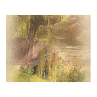Impressão Em Madeira O Verão-Outono de Scotland