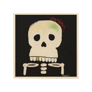 Impressão Em Madeira Pirata do La