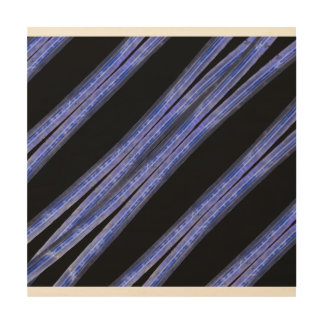 Impressão Em Madeira Teste padrão diagonal escuro das listras