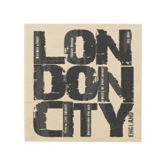 Impressão Em Madeira Tipografia de Londres, Inglaterra