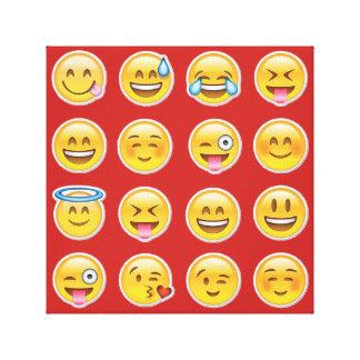 Impressão Em Tela 16 emojis