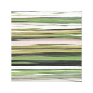 Impressão Em Tela #2 abstrato: Borrão da verde azeitona