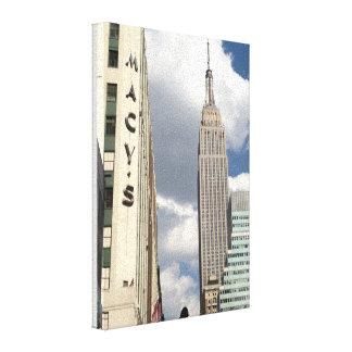 Impressão Em Tela 34o Empire State Building Manhattan NYC da rua