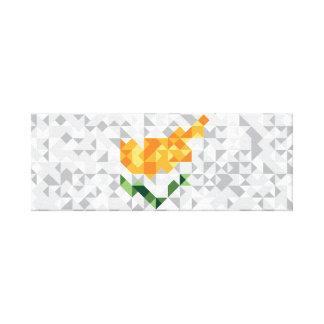 Impressão Em Tela A bandeira abstrata de Chipre, cipriota colore