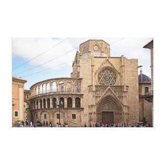 Impressão Em Tela A catedral de Valência