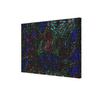 Impressão Em Tela a floresta