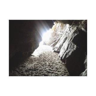 Impressão Em Tela A luz em Maghera cava Ireland