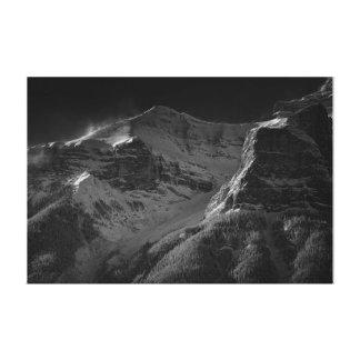 Impressão Em Tela A montanha fria