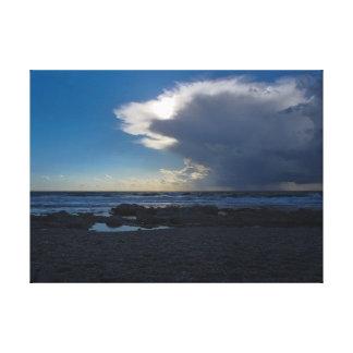 Impressão Em Tela A nuvem