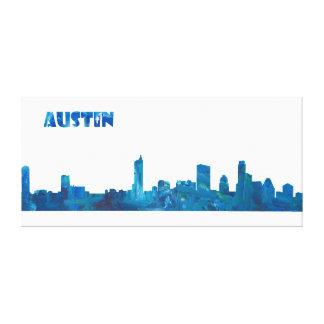 Impressão Em Tela A skyline de Austin em limpo Scissor o estilo do