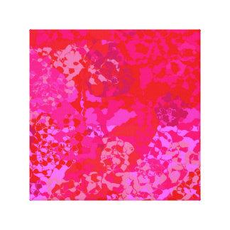 Impressão Em Tela Abstrato cor-de-rosa dos cravos