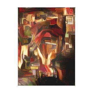 Impressão Em Tela Abstrato do óleo da mente de Sebastian